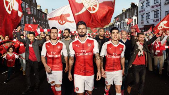 Jersey Arsenal-Jersey Bola