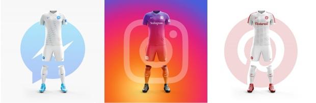 instagram pinterest messengger - buat kaos futsal