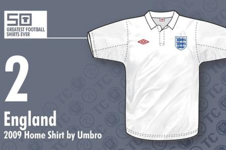 Jersey bola Inggris 2009- bikin jersey futsal