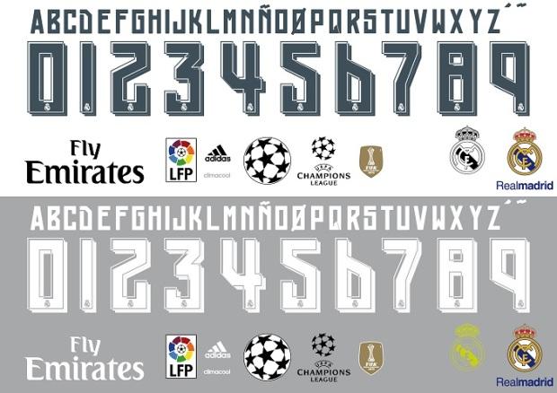 font real madrid 2015-buat baju bola