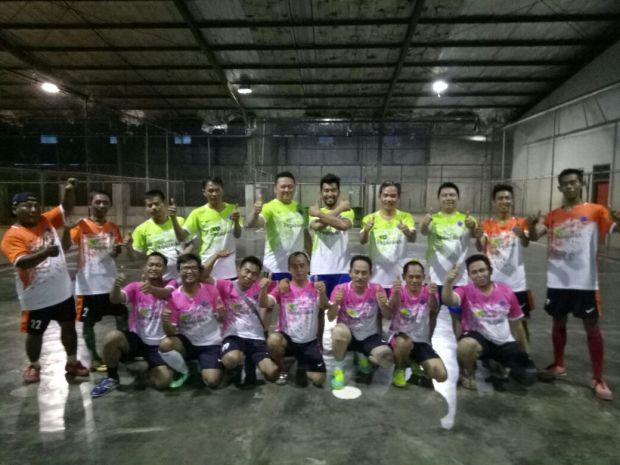 Jersey Pamanukan FC-buat baju futsal