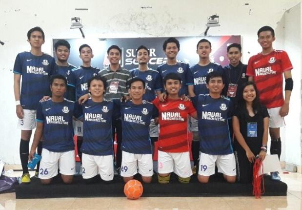 Tim Teknik Perkapalan ITS Surabaya-buat jersey futsal