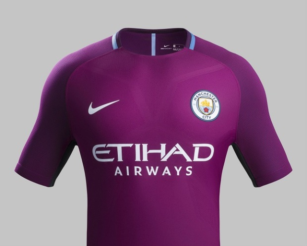 jersey manchester city away-buat jersey bola
