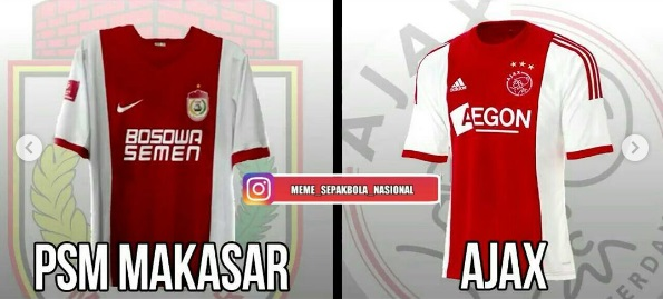 Jersey PSM MAkassar-buat jersey bola