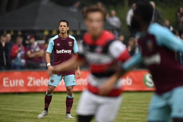 Chicarito West Ham Unites-jersey sepak bola terbaru 2017