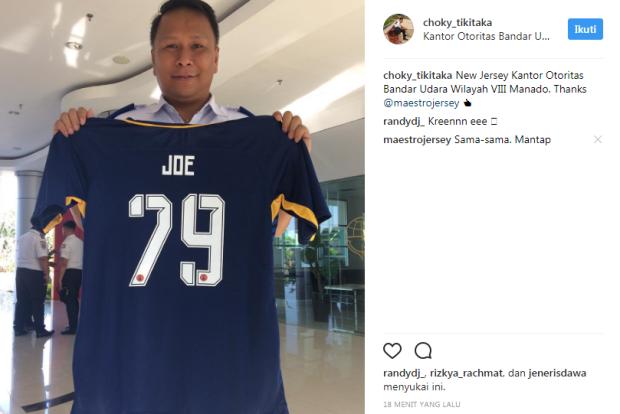 testimoni jersey futsal printing desain sendiri KBU 8 FC Manado, sulawesi utara.