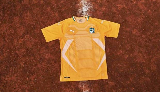 Buat Jersey Sepak Bola Pantai Gading Dengan Sentuhan Khusus Yang Dilakukan Oleh Puma