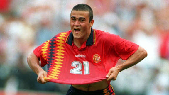 jersey sepak bola tim nas spanyol 1994-buat jersey bola