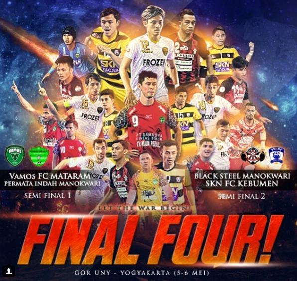 final four liga futsal indonesia